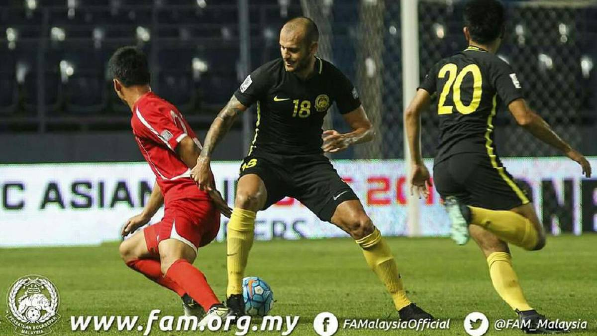 Malaysia go down 1-4 to North Korea