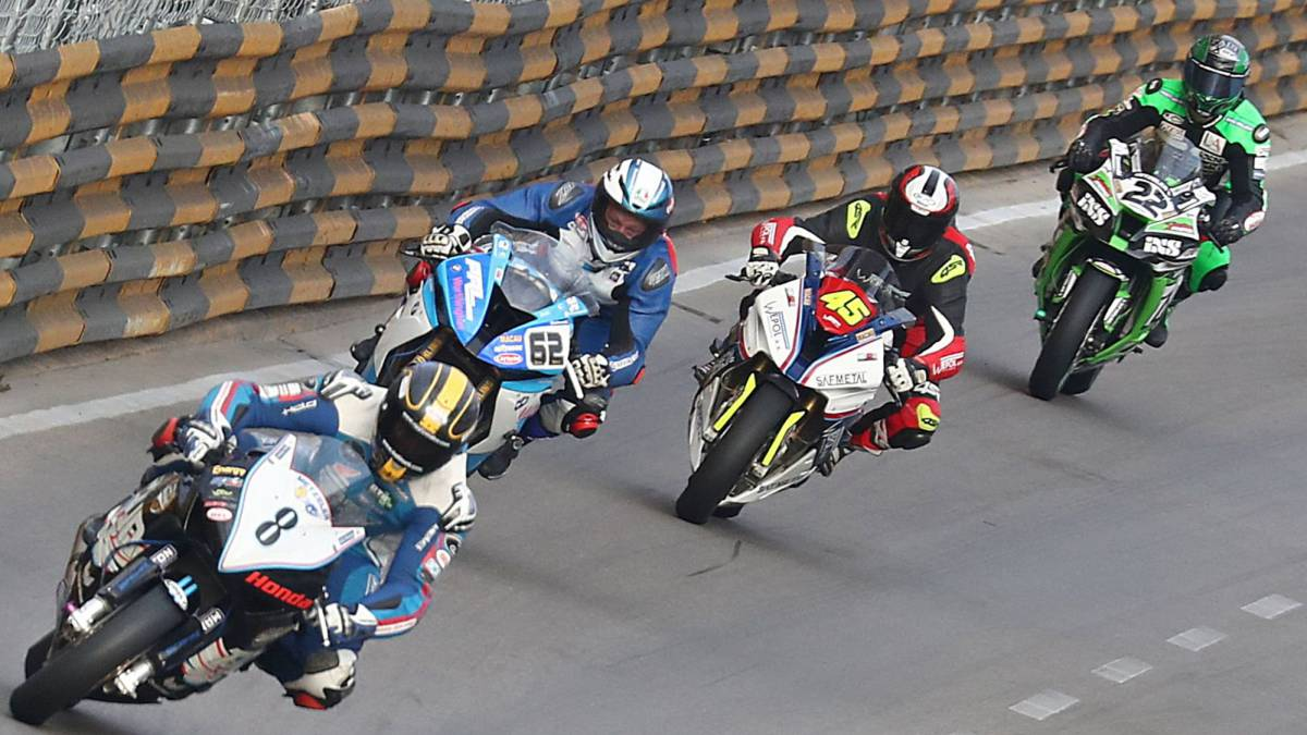 Macau Grand Prix: NI's Glenn Irwin wins after accident halts race