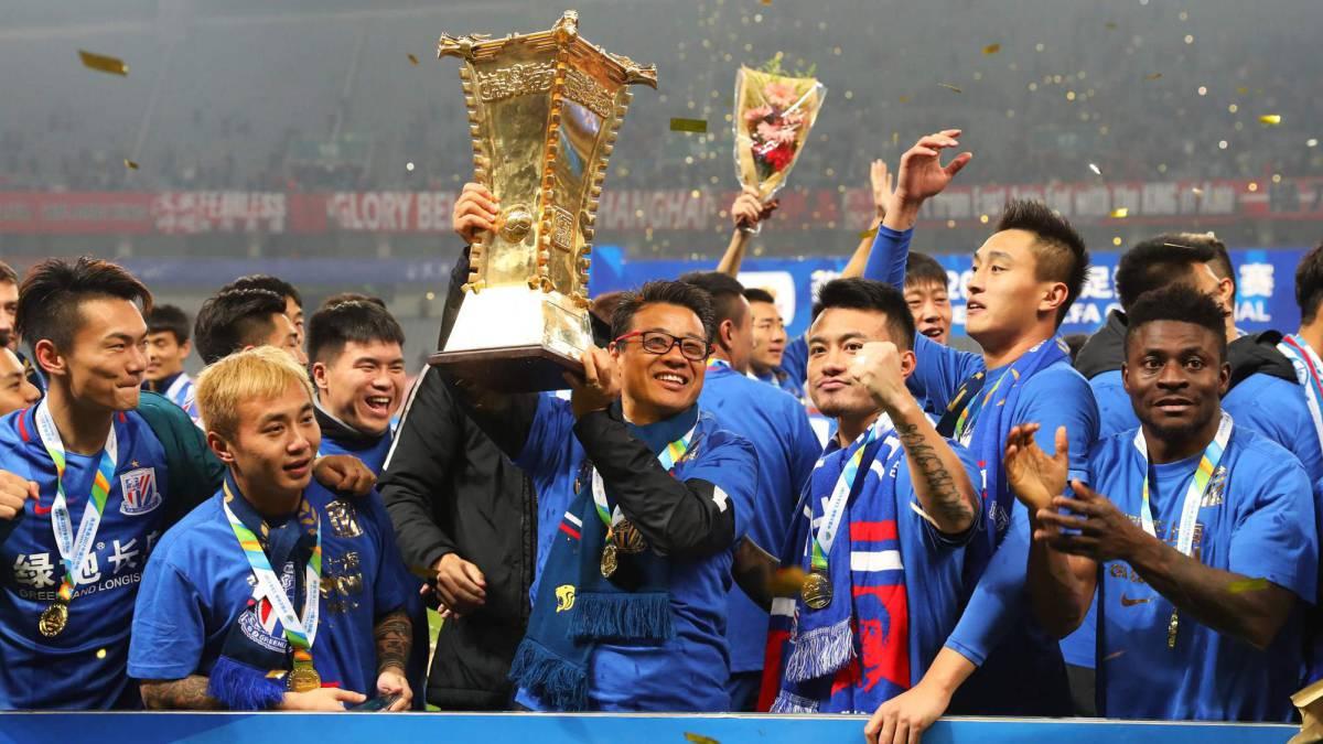 Obafemi Martins fires Shanghai Shenhua to Chinese FA Cup triumph