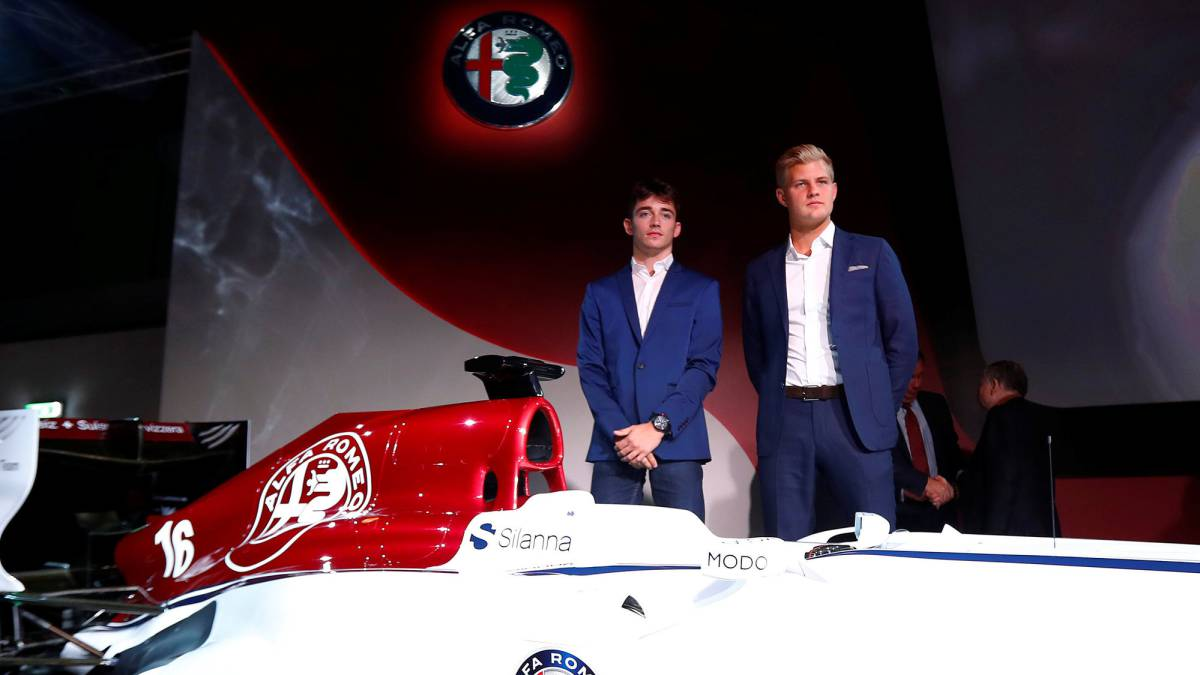 Charles Leclerc to race for Sauber alongside Marcus Ericcson in 2018