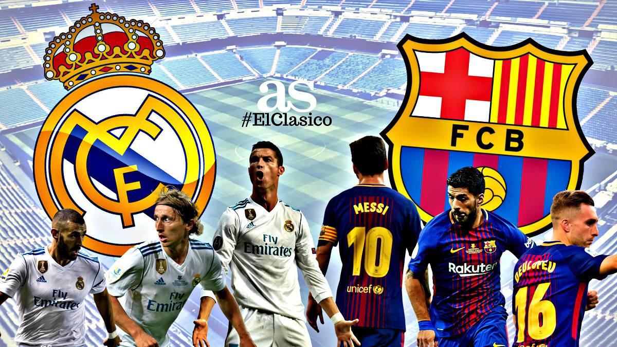 Follow Real Madrid v Barcelona El Clasico live online. Preview, build-up,