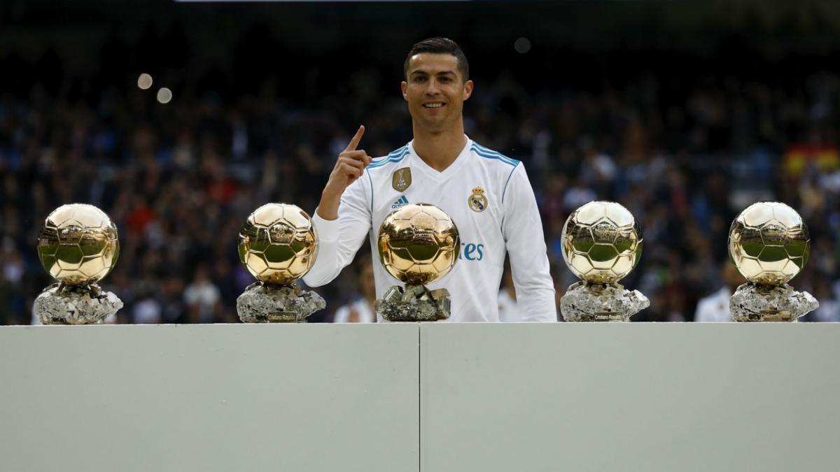 Cristiano Ronaldo wins Globe Soccer's Best Player for 2nd year in row