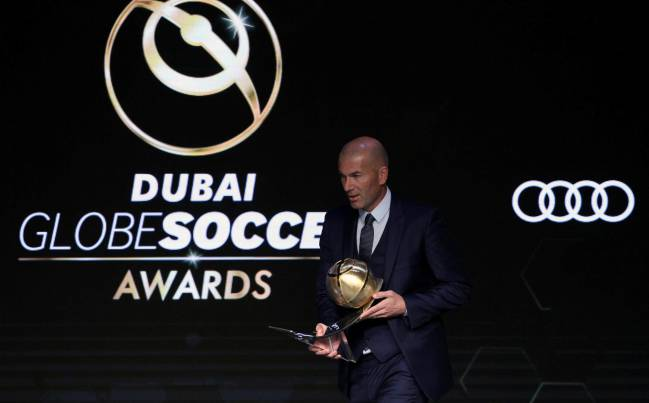 Cristiano Ronaldo wins Globe Soccer Awards
