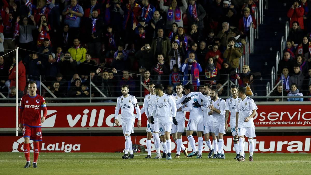 0df515f4270 Numancia 0-3 Real Madrid Copa del Rey  as it happened