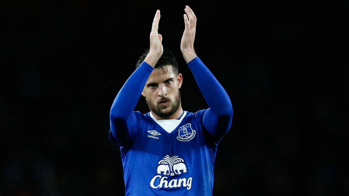 Everton's Mirallas re-joins Olympiakos on loan