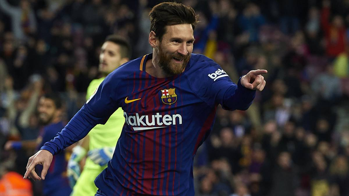 Barcelona vs Levante: revive el triplete de Lionel Messi