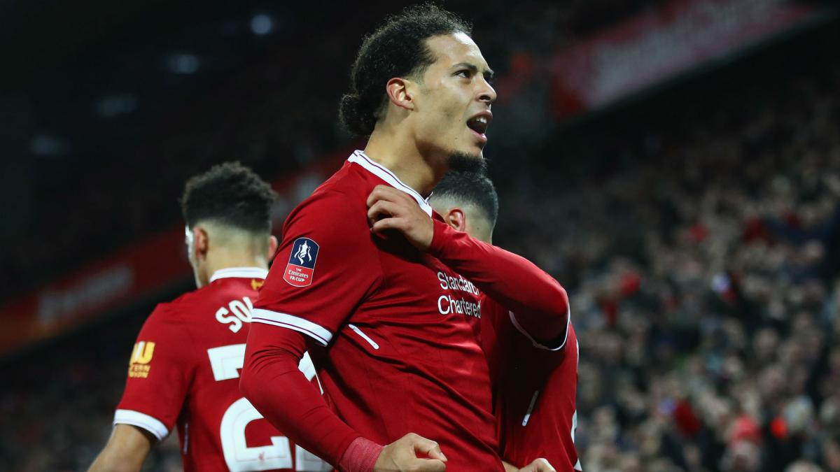 Liverpool: Van Dijk not daunted by huge transfer fee
