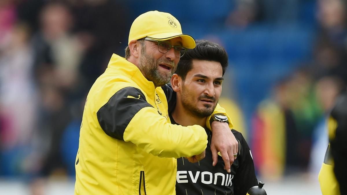 Image result for gundogan klopp