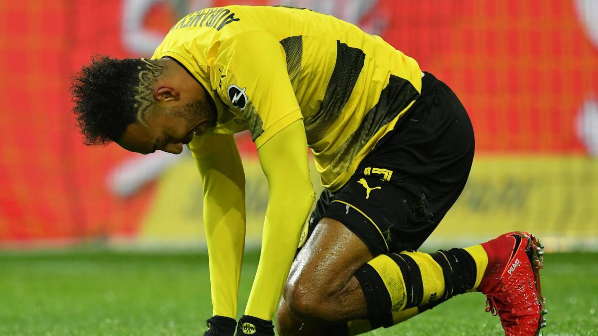 Aubameyang suspended as Borussia Dortmund host Wolfsburg