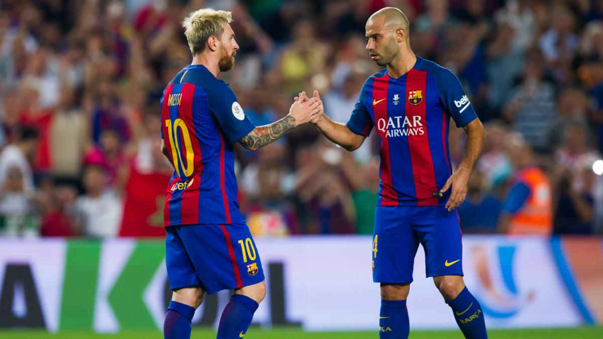 Mascherano to leave Barcelona after eight years