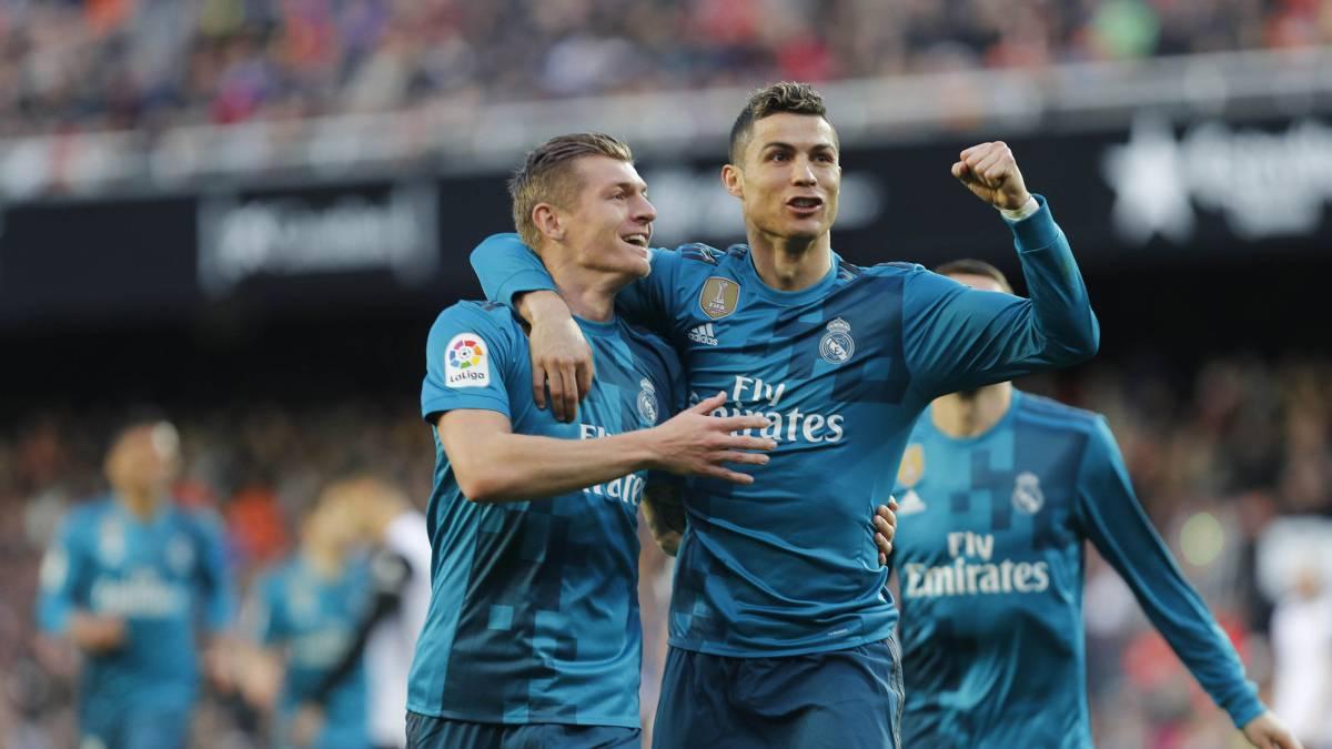 Valencia 1 4 Real Madrid Laliga Match Report Goals