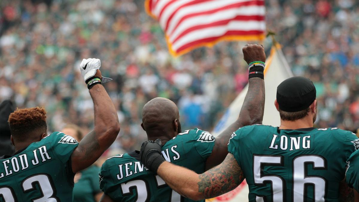 Eagles&#039 Long on potential White House visit Are you kidding