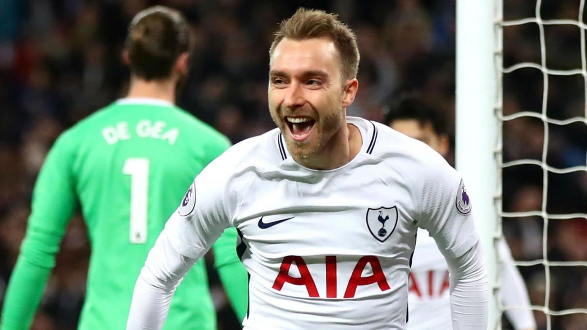 Tottenham win over Manchester United in front of record crowd