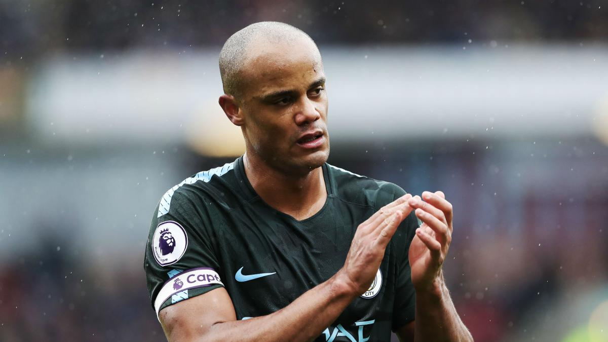 Vincent Kompany remains part of Pep Guardiola's plans at Manchester City