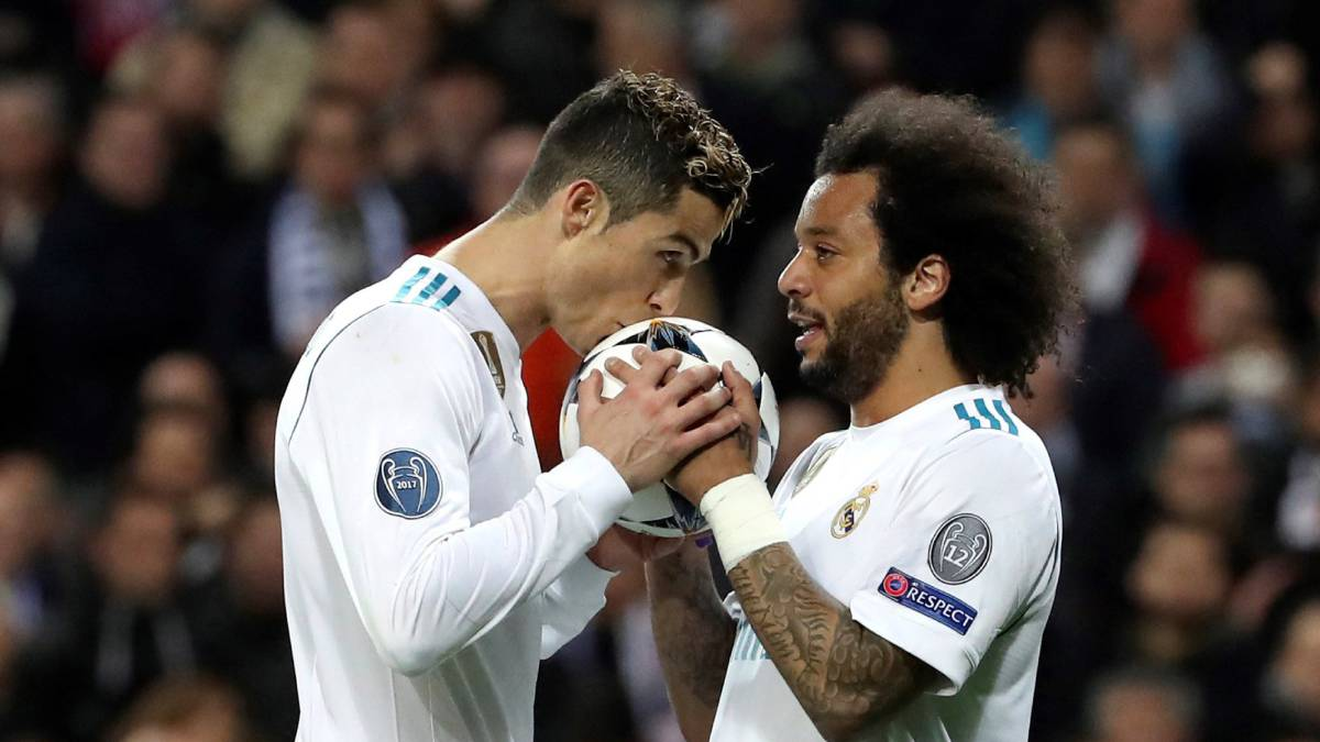 Matches of Real Madrid in the Champions League 2018 - 2019 92