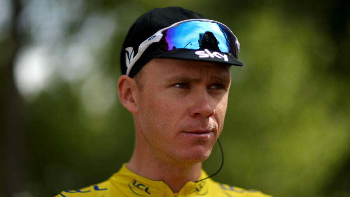 Froome vows to race on, despite probe