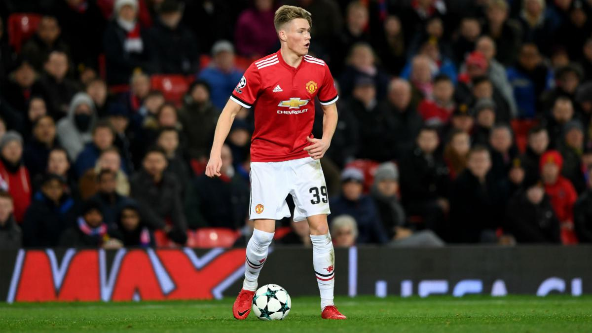 Manchester United's Jose Mourinho says Scott McTominay deserves Scotland call
