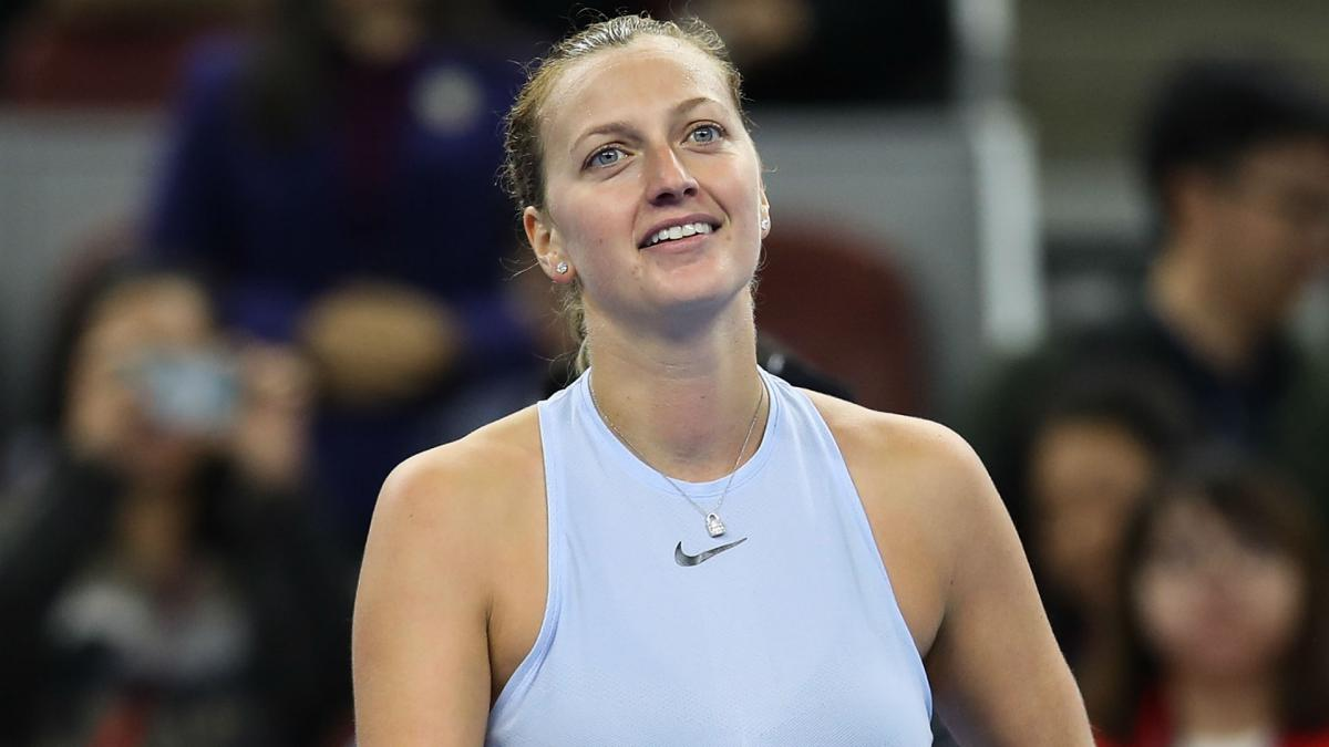 Qatar Open: Petra Kvitova beats Garbine Muguruza to win title