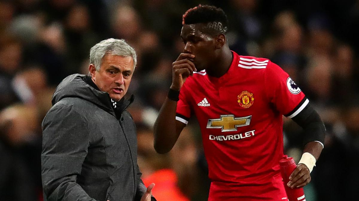Pressure on every Manchester United player, not just Paul Pogba - Mourinho