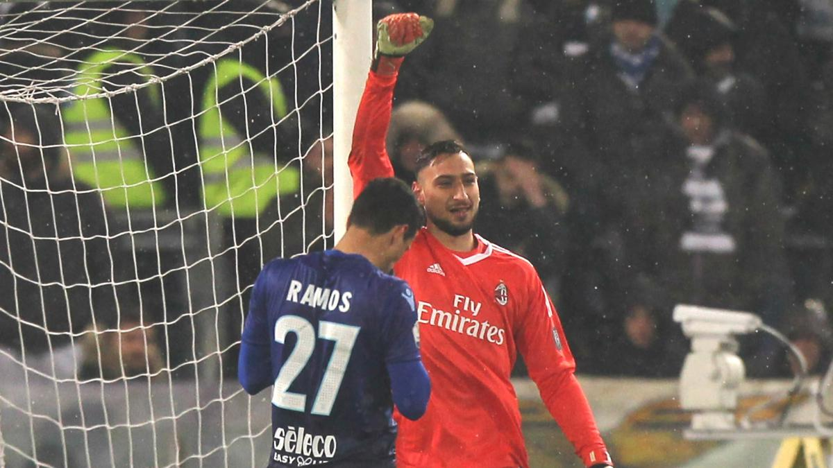 Snow hampering Juve and Milan Cup preparations