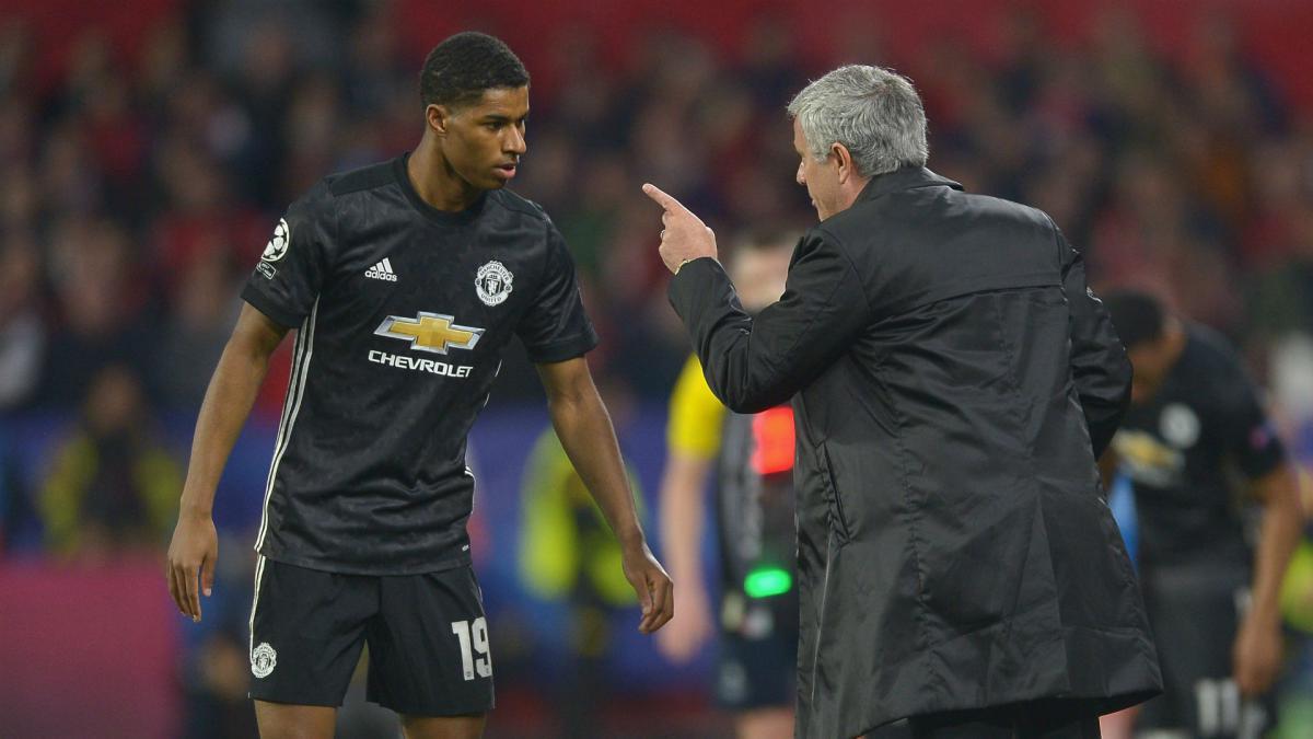 Jose Mourinho hits back over Marcus Rashford selection amid World Cup concerns