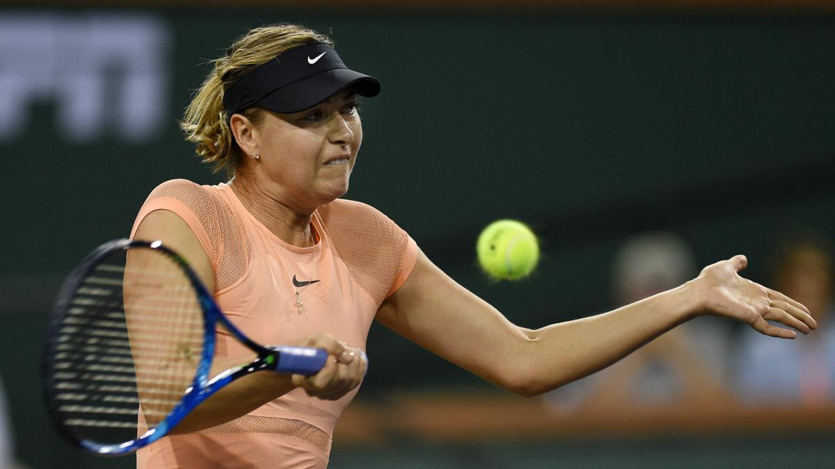 I need some time- Sharapova frustrated after third straight defeat