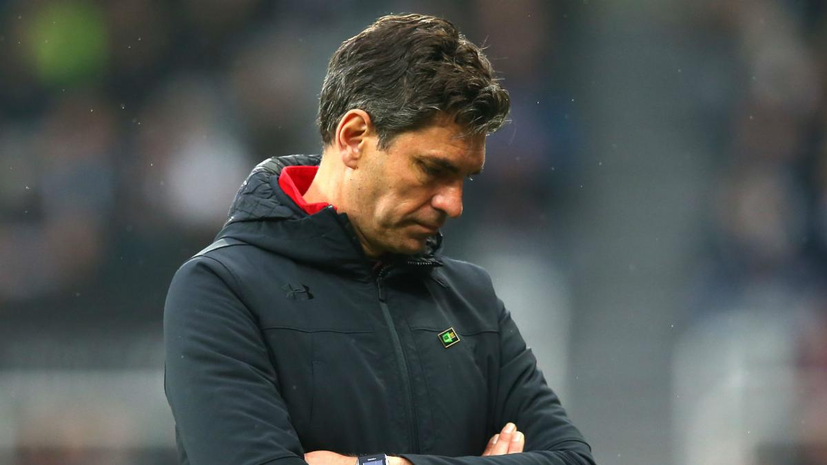 Southampton sack Mauricio Pellegrino with eight games left in the season