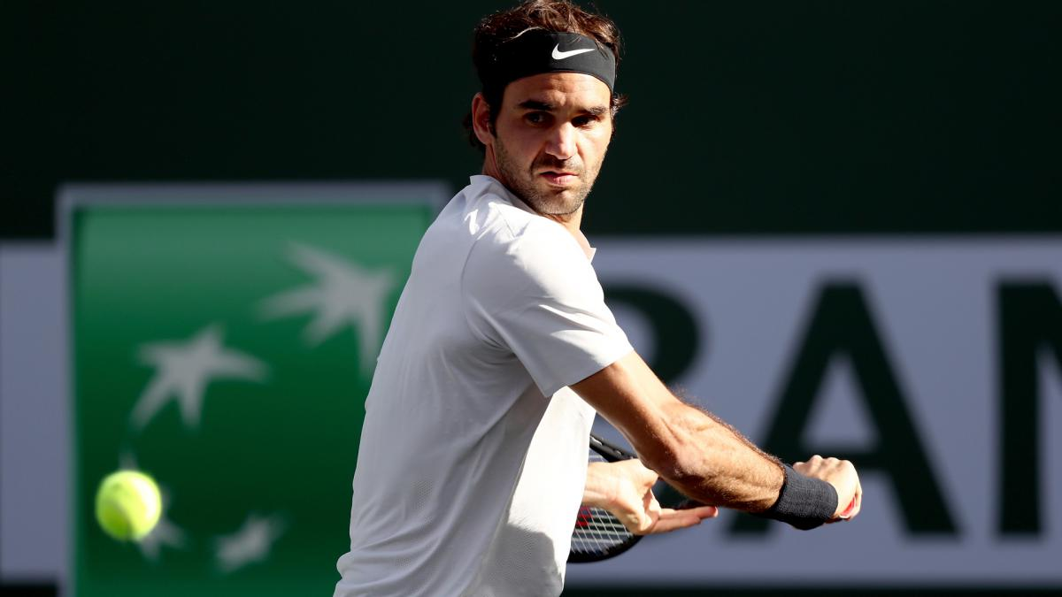 Roger Federer beats Borna Coric in three sets at BNP Paribas Open