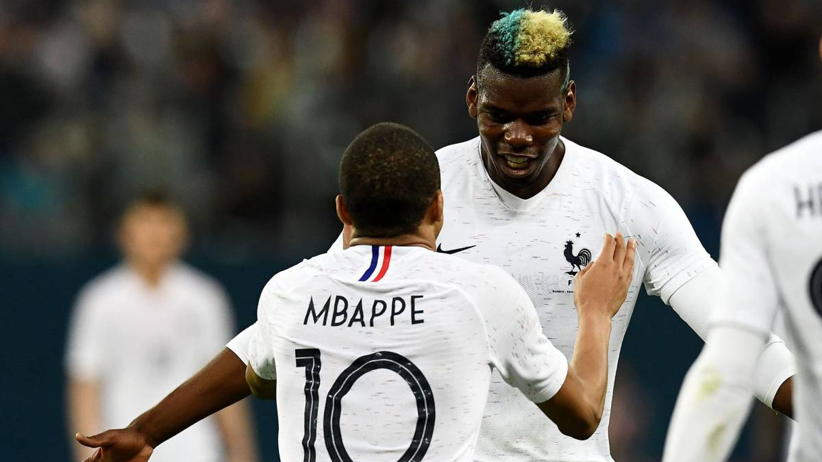 Pogba   Mbappe record France firsts - AS.com ecd555af08b02
