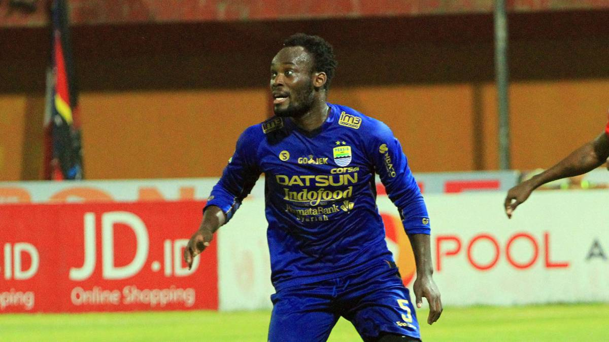 Michael Essien Released By Indonesian Side Persib Bandung