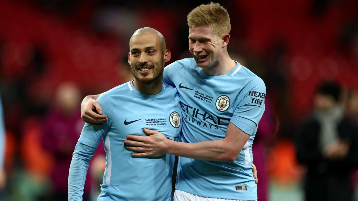Image result for de bruyne david silva