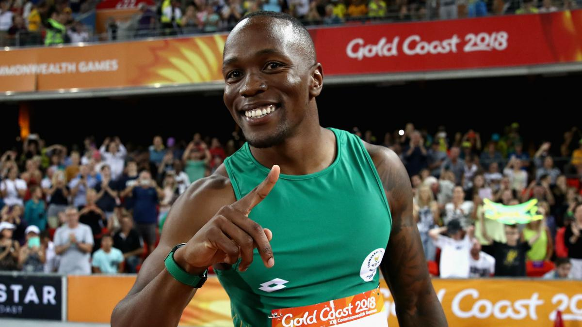 Commonwealth Games: Simbine upsets Blake to win 100m gold