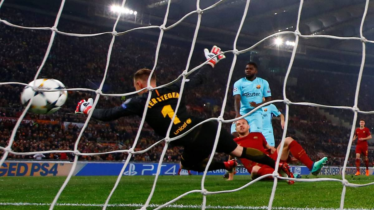 Roma 3-0 Barcelona Champions League 2018  match report - AS.com e9e13d6710