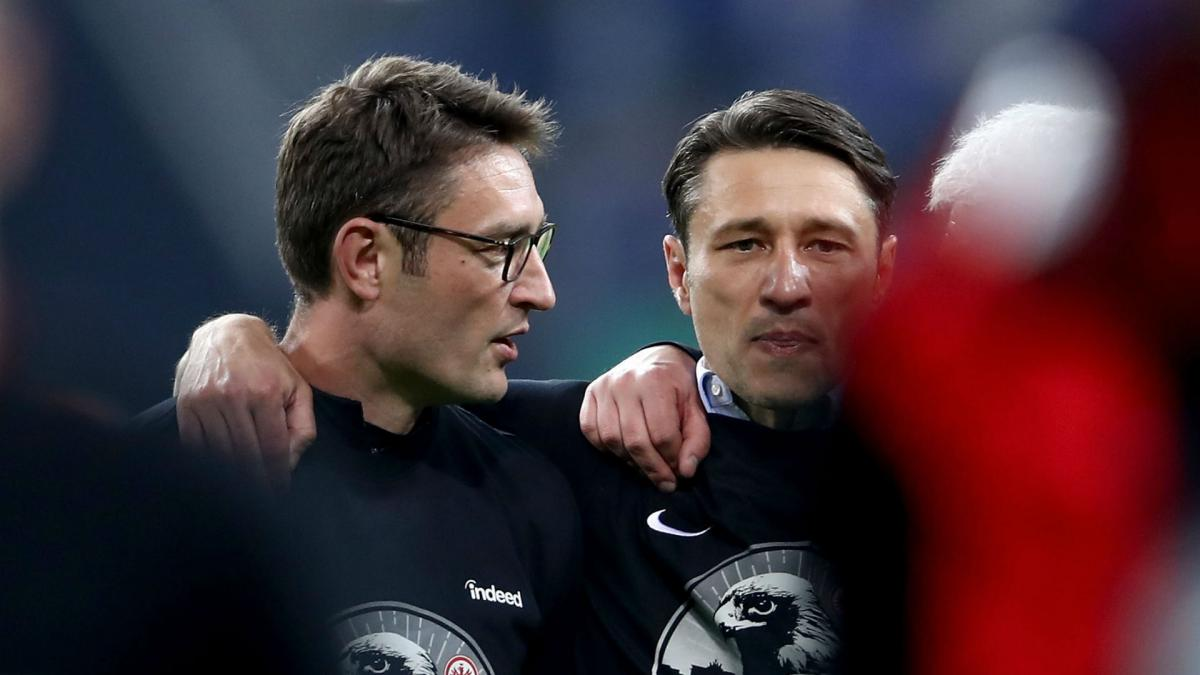 Frankfurt stun Schalke to reach cup final