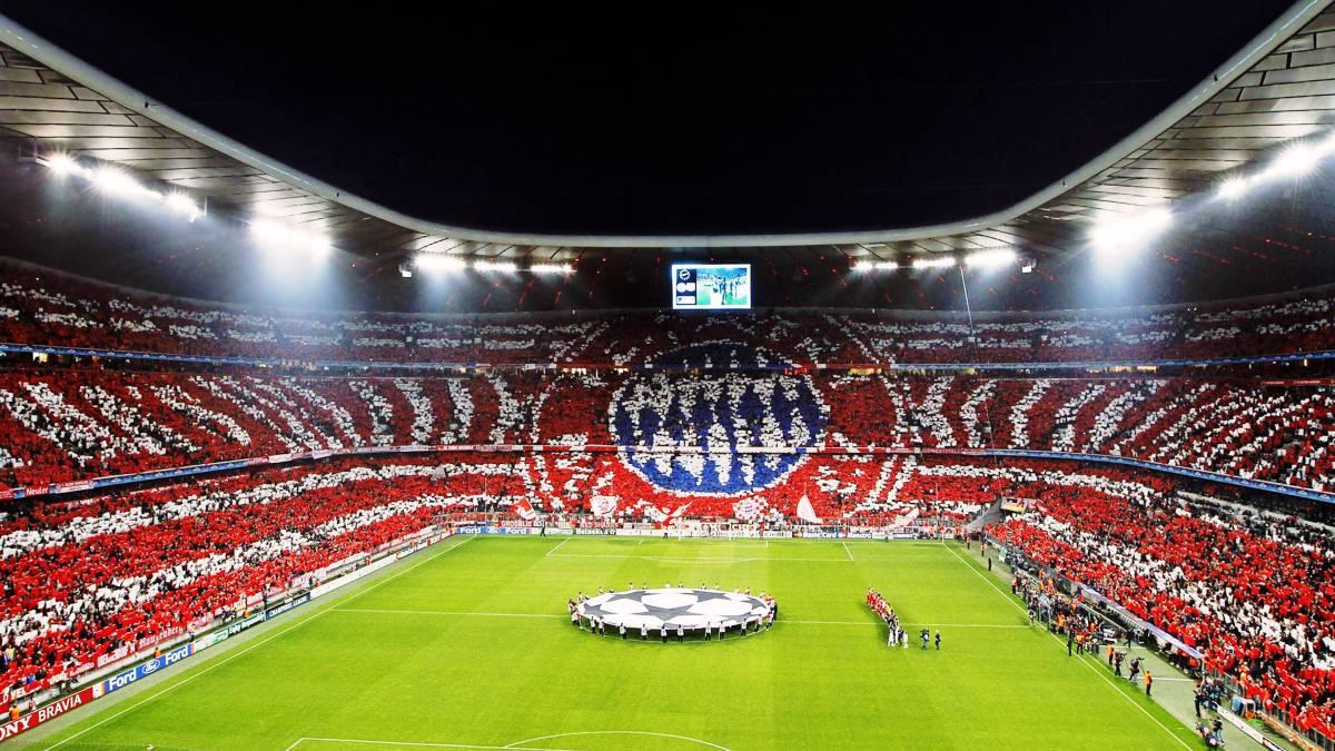 Image result for bayern munich stadium