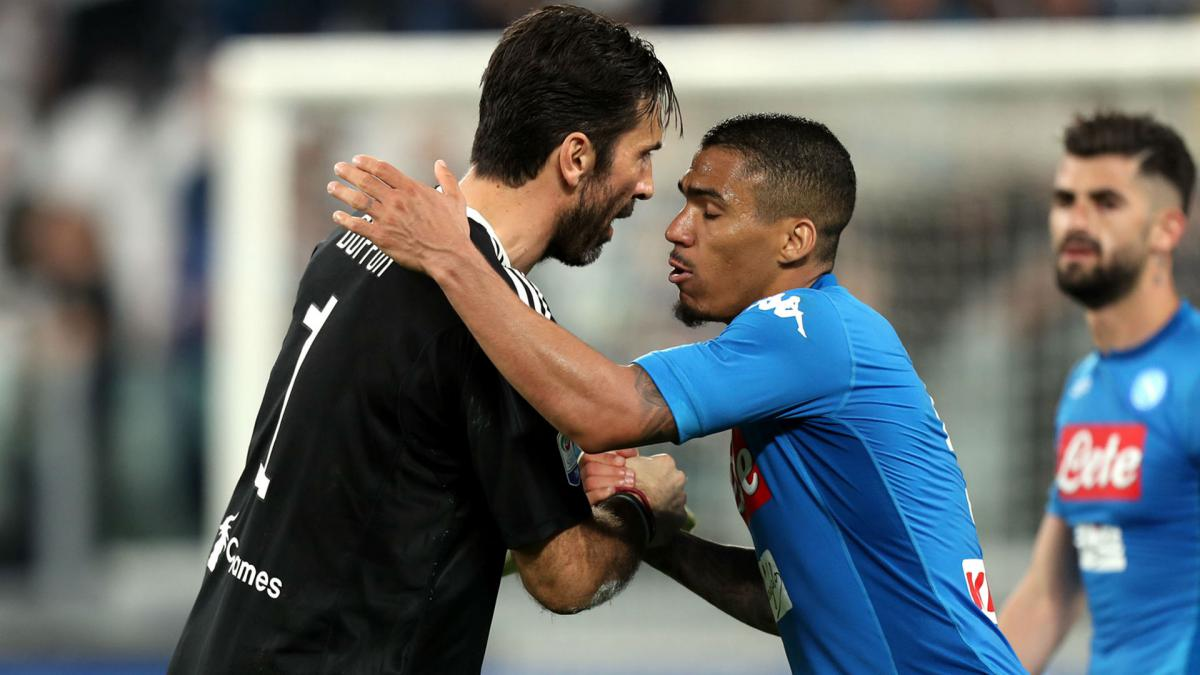 Juve scored twice in last five minutes to sink ten-man Inter