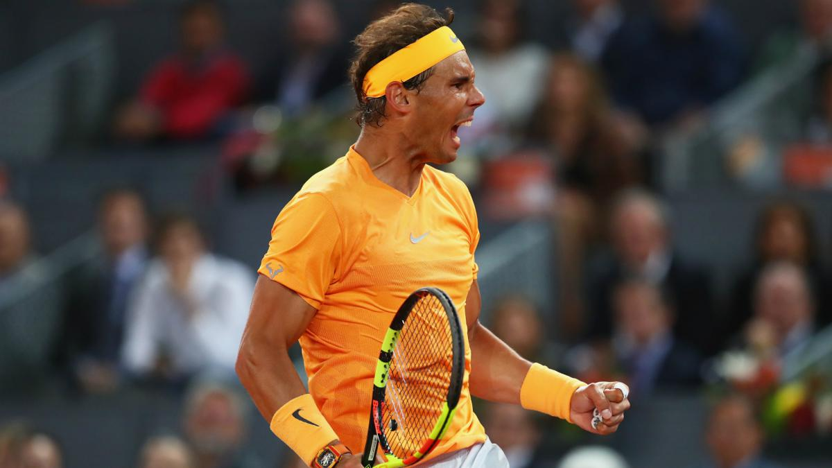 Nadal looks to extend 19-match winning streak in Madrid