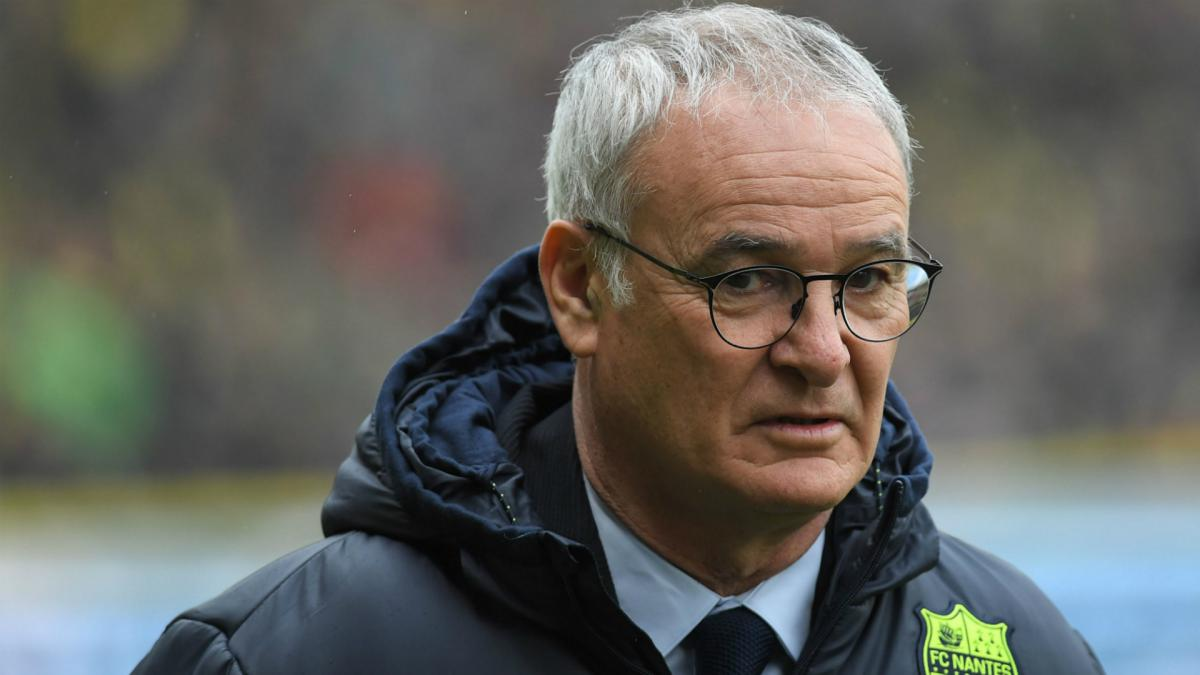 Ranieri set to exit French soccer's Nantes
