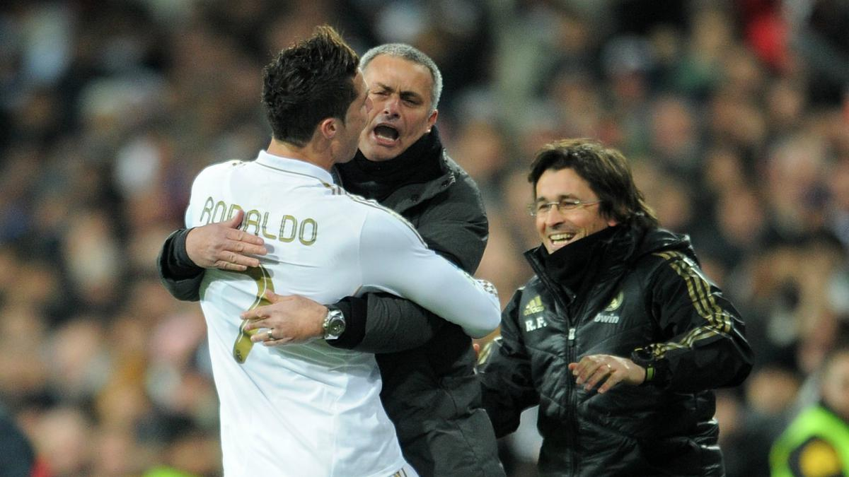 Mourinho speaks on Manchester United re-signing Cristiano Ronaldo from Real Madrid