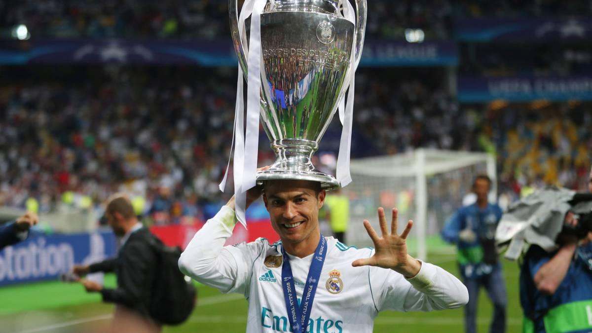 Ronaldo Wins His Fifth Champions League Trophy