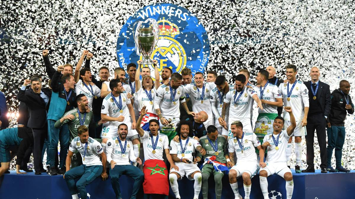 Image result for real madrid champions league 2018