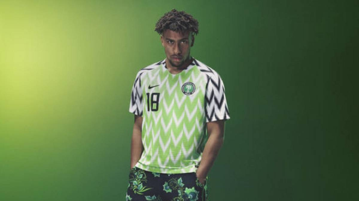 25b46d715 Nigeria World Cup jersey sells out after just three minutes - AS.com