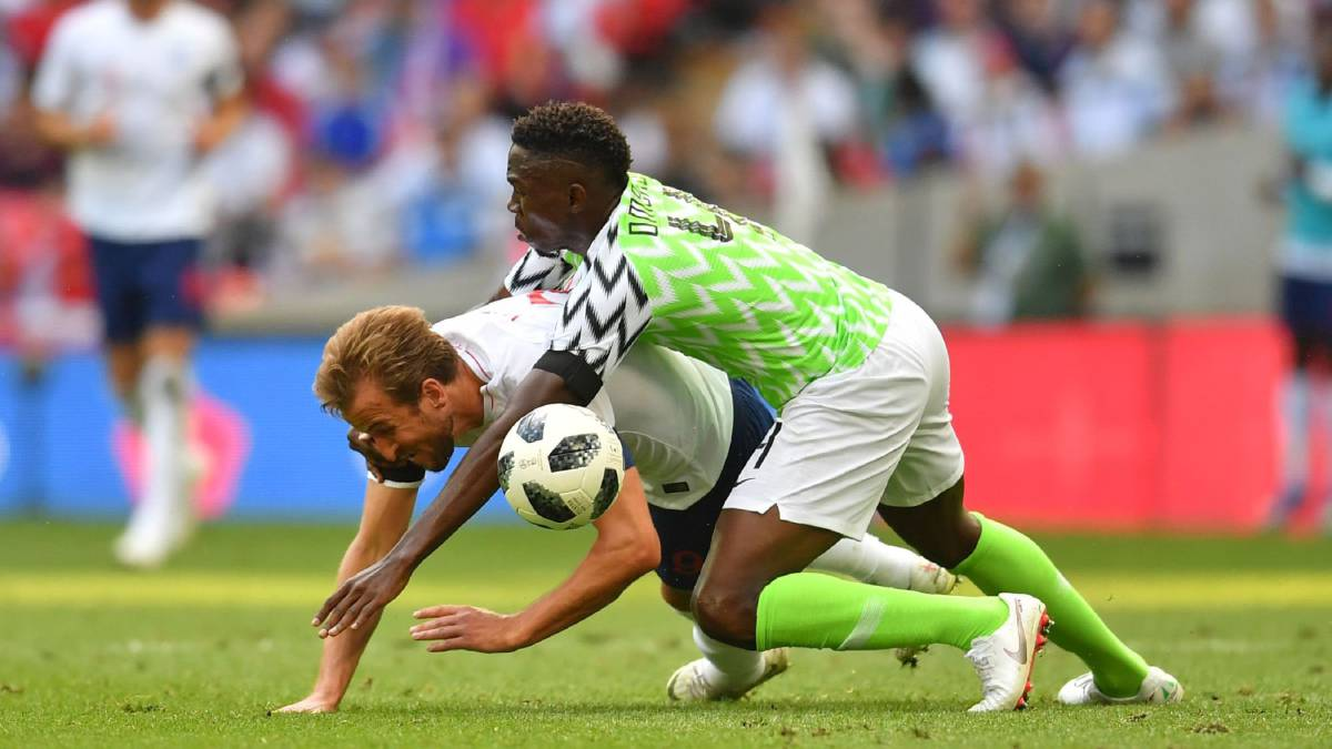 England - Nigeria  World Cup 2018 friendly match c06df35e8