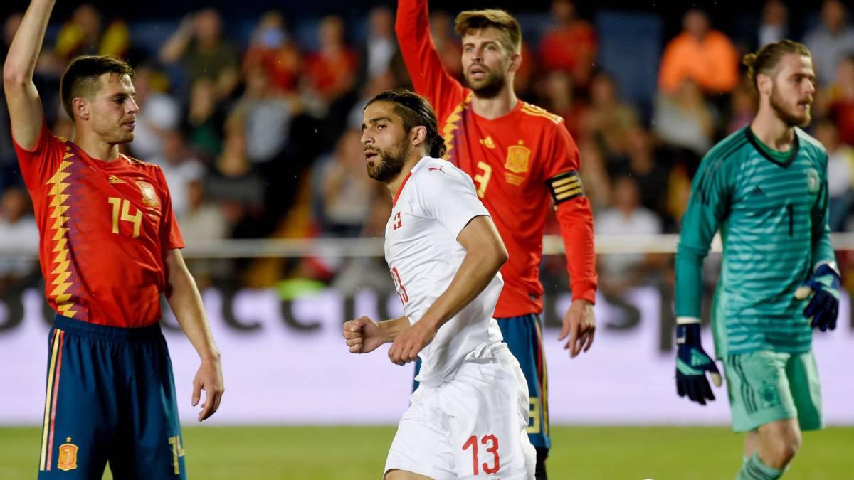 e67bde782 Spain 1-1 Switzerland match report  international friendly - AS.com