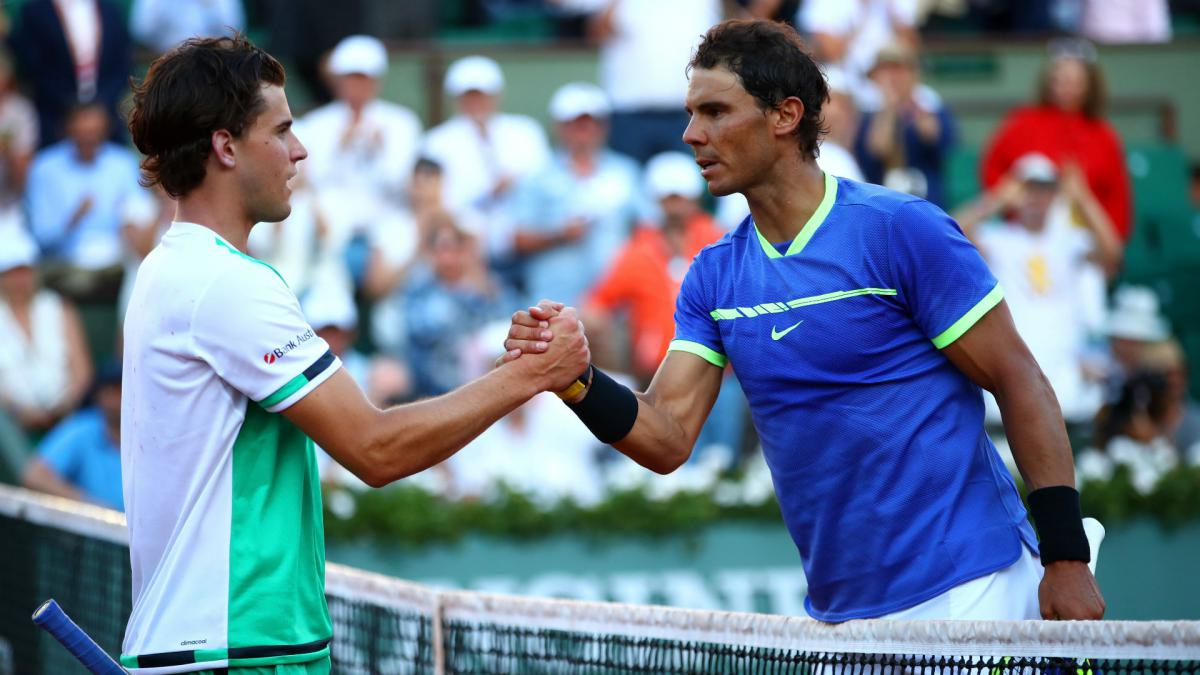 Nadal to clash with Thiem in final