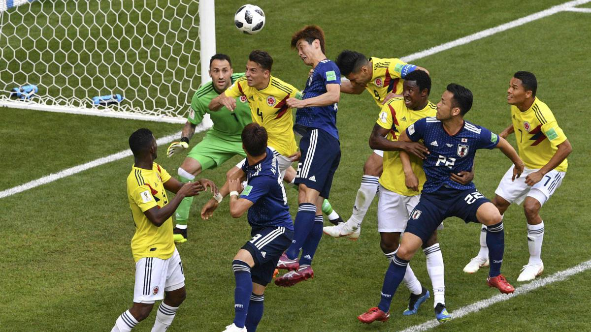 50cfd37d595 Colombia 1-2 Japan, Group H, World Cup 2018 Russia: report - AS.com