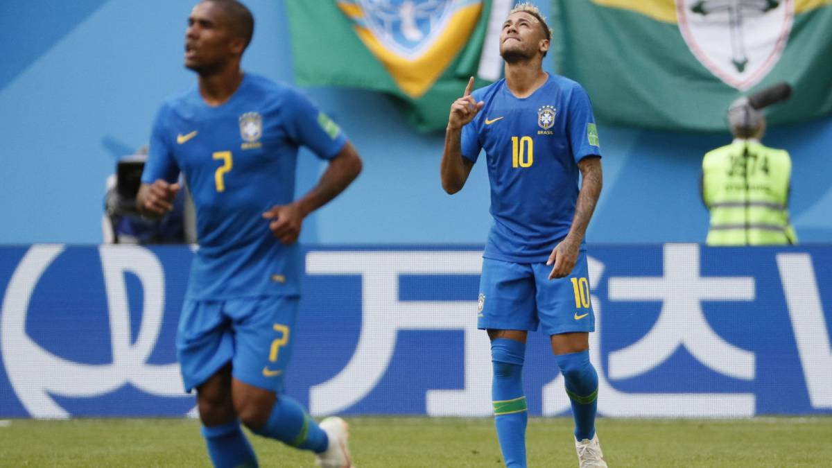 2bf08cc0ea3 Brazil vs Costa Rica live: World Cup 2018, Group E match report - AS.com