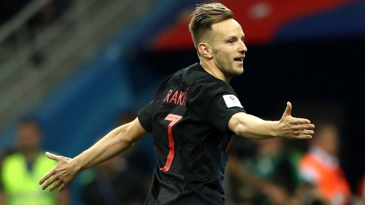 712ac958a Croatia 1-1 Denmark (3-2 penalties)  World Cup 2018 last 16 match ...