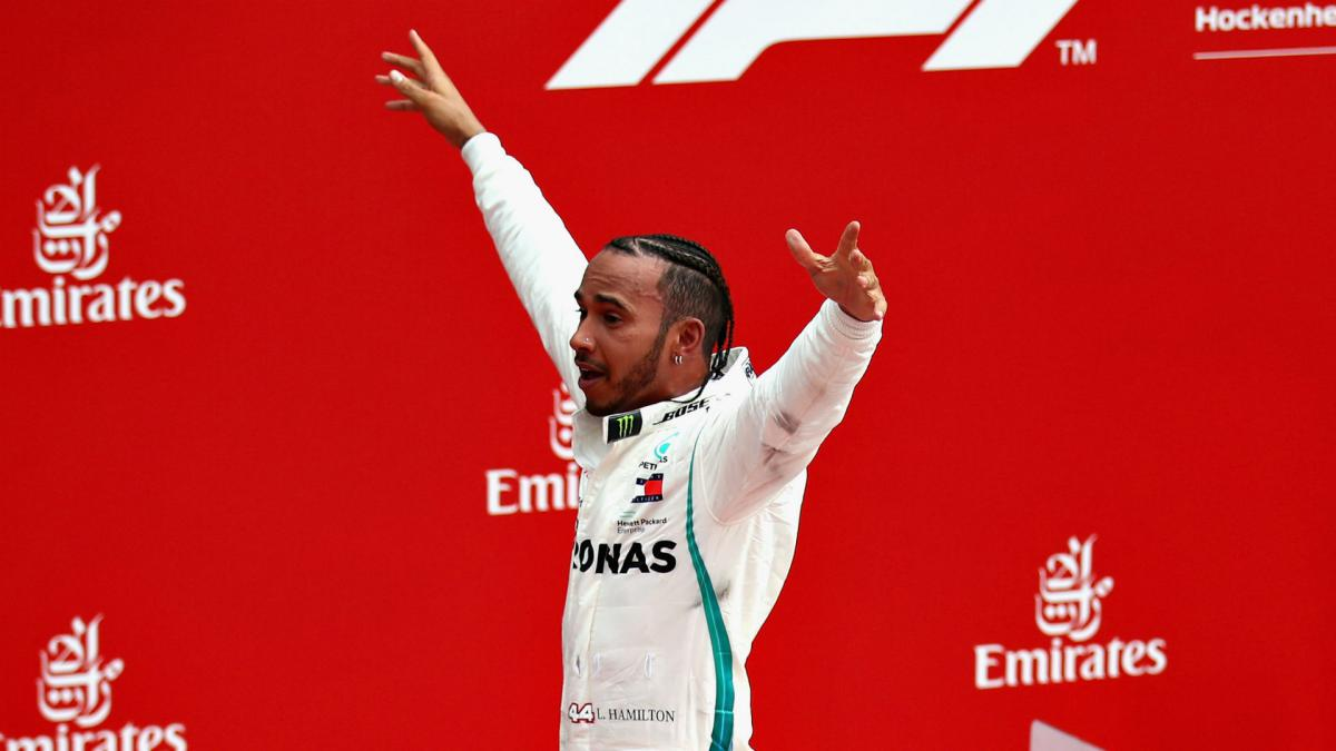 Lewis Hamilton's German win owes something to 'four-poster bed'
