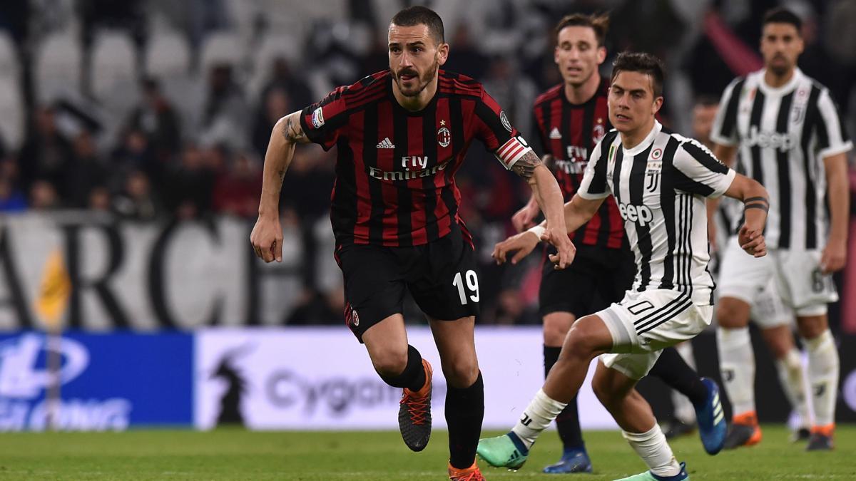 Leonardo Bonucci wants Juventus return, says AC Milan sporting director Leonardo